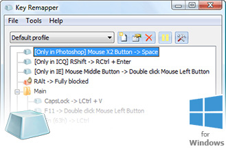 ATNSOFT Key Remapper - Key, mouse button and mouse wheel remapper